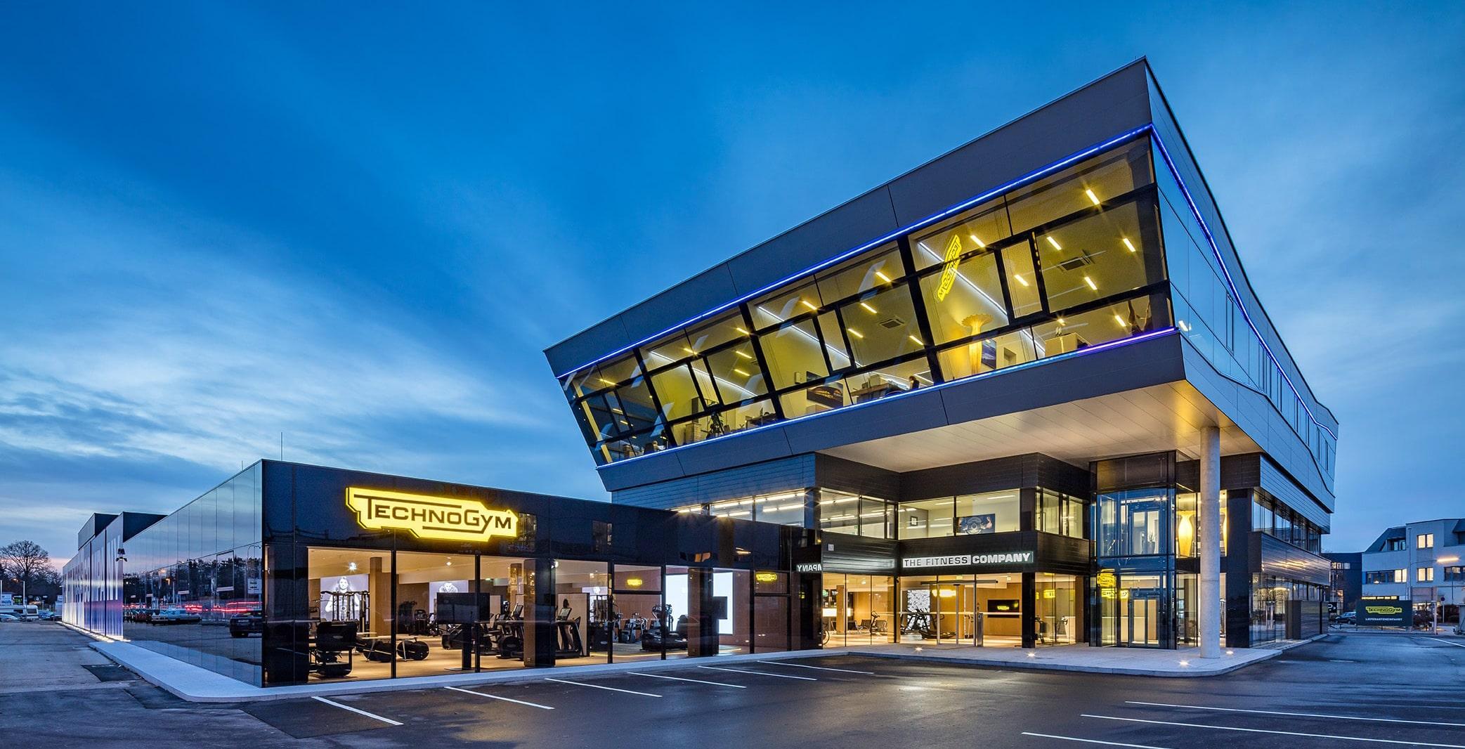 The Fitness Company Firmengebäude